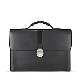 Leather Slim Briefcase