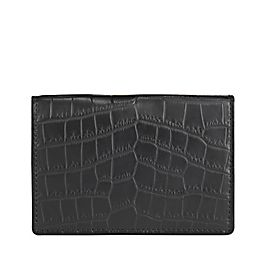 Leather Wilde Business Card Case