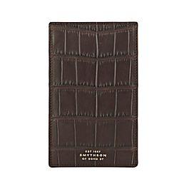 Wilde Taschennotizbuch aus Leder