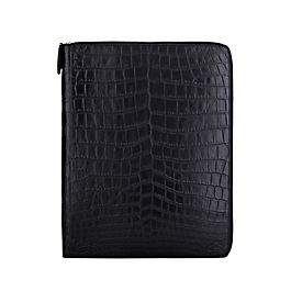 Leather Wilde A4 Zip Writing Folder