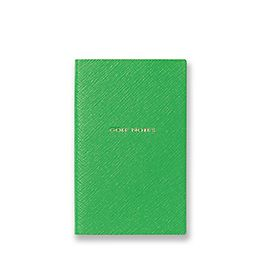 Leather Golf Notes Panama Notebook