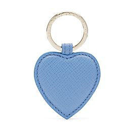 Leather Heart Key Ring