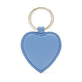 Leather Heart Keyring