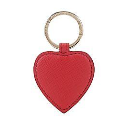 Porte-clés cœur en cuir
