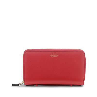 Panama Double Zip Travel Wallet