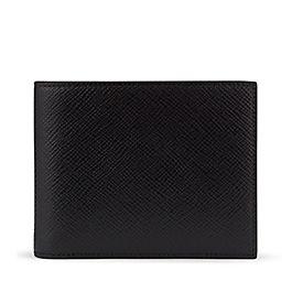 Brieftasche mit Ausweisfach aus Leder
