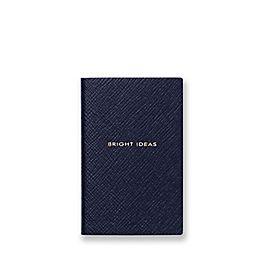 Carnet WaferBright Ideas en cuir