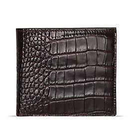 Portefeuille en cuir avec compartiment à pièces