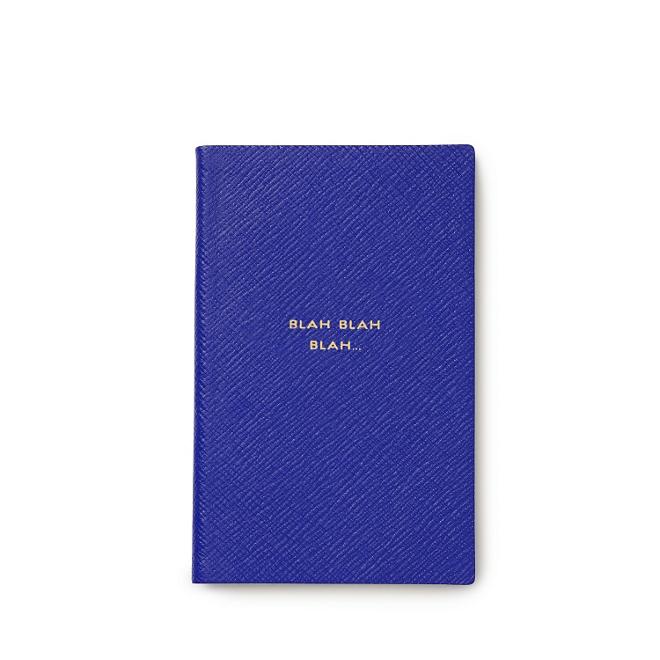 Blah Blah Blah Panama pocket notebook Smythson