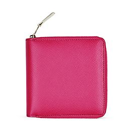 Leather Medium Zip Wallet