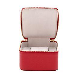 Boîte pour montres de voyage en cuir
