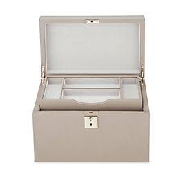 Boîte à accessoires pour gentlemen en cuir