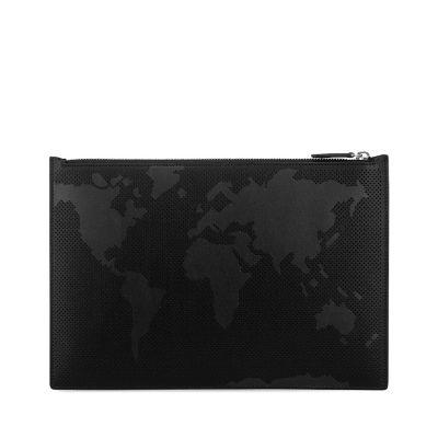 Atlas Triple Zip Travel Pouch