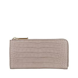 Leather Wilde Slim Zip Purse