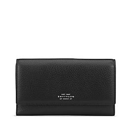 Leather Continental Purse