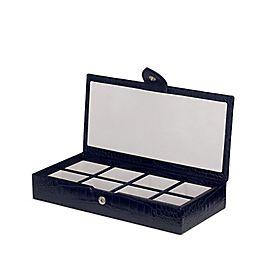 Leather Cufflink Box