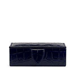Leather Mini Cufflink Box