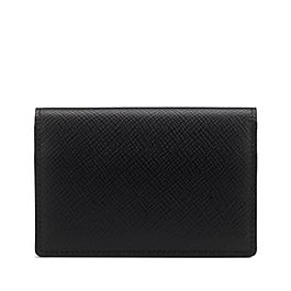 Leather Card Case with Press Stud