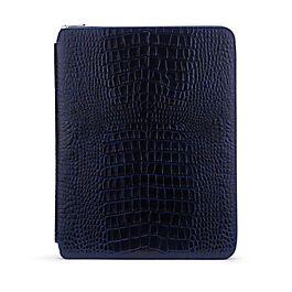 Leather A4 Zip Writing Folder