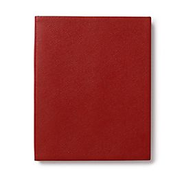 Leather Portobello Notebook with Blank Pages