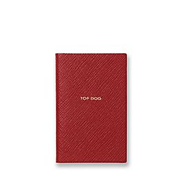 Leather Top Dog Wafer Notebook
