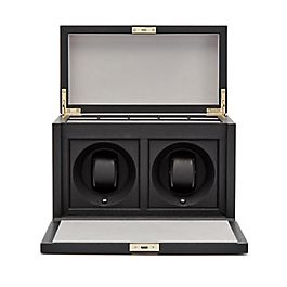 Leather Rotary Watch Box