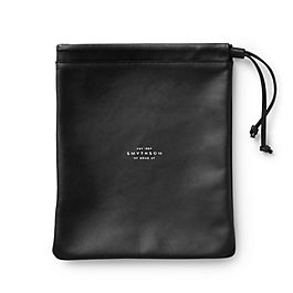 Leather Medium String Pouch
