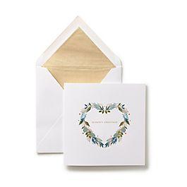 Cartes de vœux à couronne