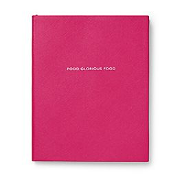 Leather Food Glorious Food Notebook