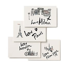 Fashion Week Postcards