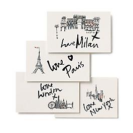 Fashion Week Postcards