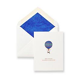 Biglietto con palloncino Bon Voyage