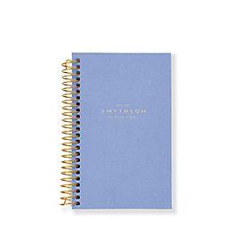Ricambio quaderno mini con rilegatura dorata a spirale