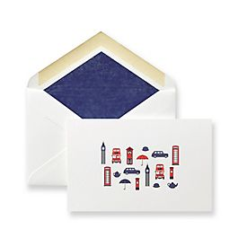 London Town Correspondence Cards