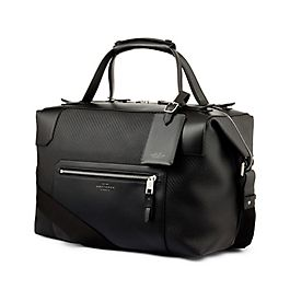 Leather Medium Holdall