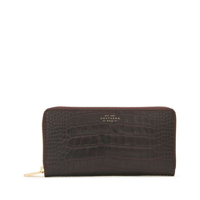 Discount Finishline Mara Large zip purse Smythson Supply Cheap Price Discount Affordable Discount Classic Free Shipping Websites MirkDrRQ
