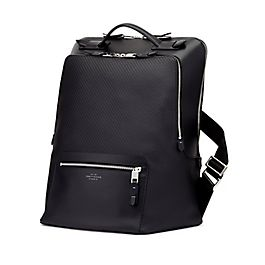 Leather Large Backpack