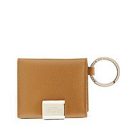 Porte-clés à photos pliant en cuir