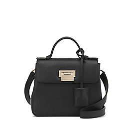Leather Mini Crossbody Bag