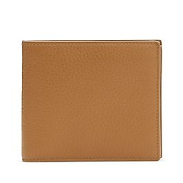 Brieftasche mit Kleingeldfach aus Leder
