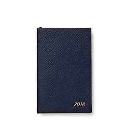 Leather 2018 Panama Agenda with Address Book Insert