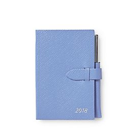 Leather 2018 Panama Agenda with Gilt Pencil