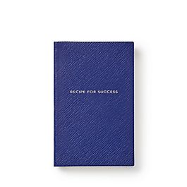 Leather Recipe for Success Panama Notebook