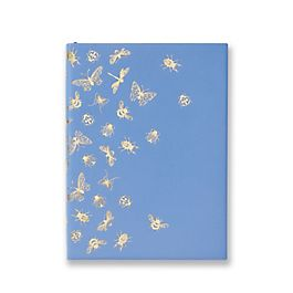 "Quaderno Soho ""Beauty and the Bees"" in pelle"