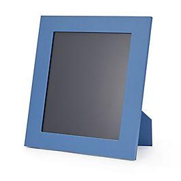 Grand cadre photo en cuir