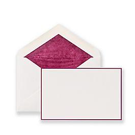 Cartes de correspondance à bordure