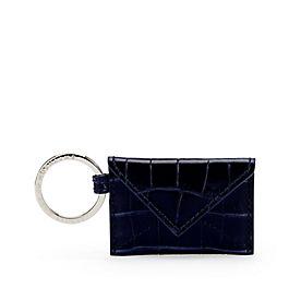 Kuvert-Schlüsselanhänger aus Leder