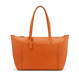 Borsa tote East West in pelle