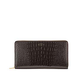 Leather Zip Travel Wallet