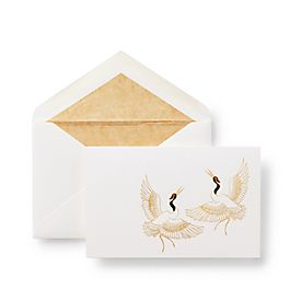 Cartes-lettres Flying Cranes